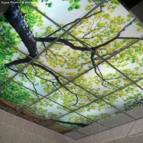 УФ печать на подвесном потолке