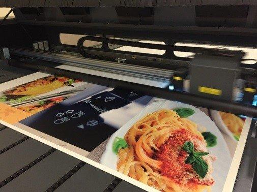 УФ печать на картоне