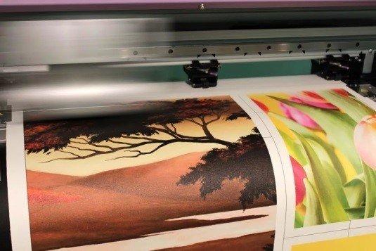Печать картин на холсте
