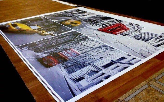 Интерьерная печать постеров