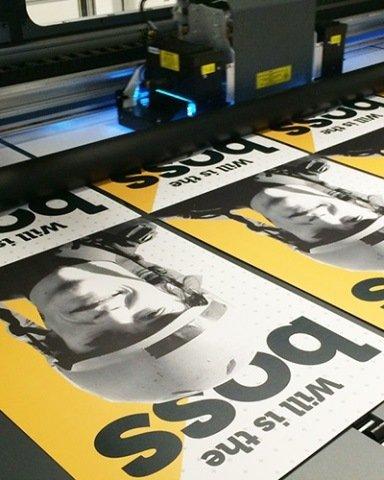 УФ печать на листовых материалах